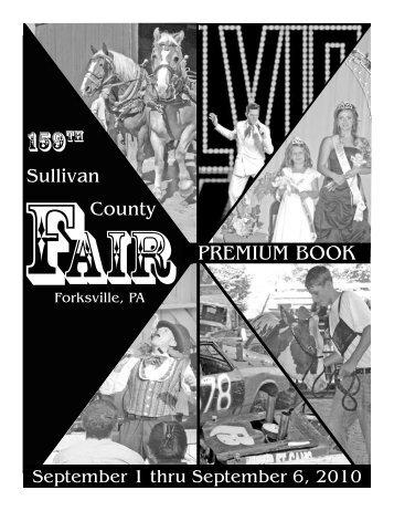 Fair Book.indd - the Sullivan County Fair
