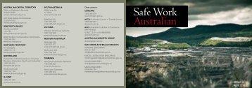 Safe Work Australian Issue 3 April 2010