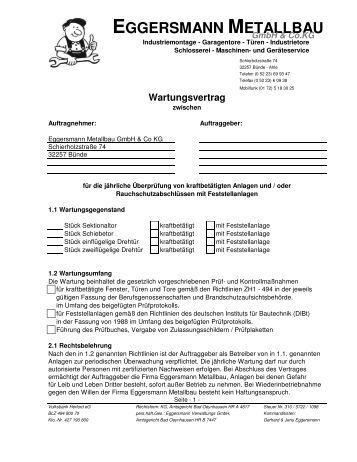 Ausgezeichnet Servicevertrag Vorlage Uk Galerie ...