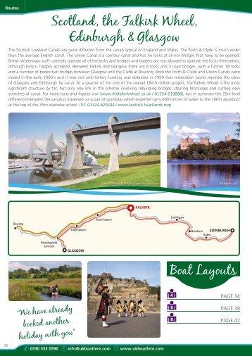 Holidays in Scotland, Falkirk Wheel, Edinburgh ... - UK Boat Hire