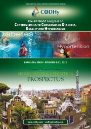 bArcelonA, spAin • november 8-11, 2012 - CODHy