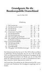 Grundgesetz für die Bundesrepublik Deutschland - Landeszentrale ...