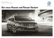 Der neue Passat und Passat Variant - Volkswagen AG