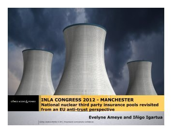 National nuclear third party insurance pools ... - Burges Salmon
