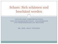 Scham: Sich schämen und beschämt werden - LVR-Klinik Bonn