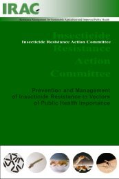 Insecticide Resistance Action Committee - Armed Forces Pest ...