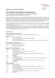 Programm - KZ-Gedenkstätte Neuengamme