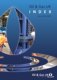 THE OIL & GAS UK INDEX