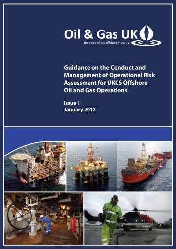 Guidance on the Conduct and Management of ... - Oil & Gas UK