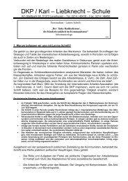 DKP / Karl – Liebknecht – Schule