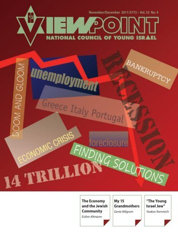 Download Winter 2011 Magazine - National Council of Young Israel