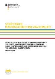 """""""Entwicklung von Mess-und Berechnungsverfahren zur ... - BMU"""