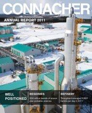 ANNUAL REPORT 2011 - Connacher Oil and Gas