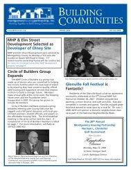 BUILDING COMMUNITIES - Montgomery Housing Partnership