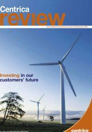Download the 2005 Annual review PDF - Centrica