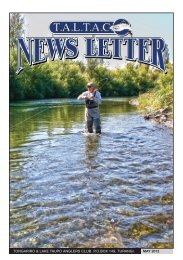 TALTAC Newsletter May 2012 - Christchurch Fishing and Casting ...