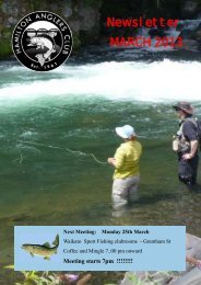 Hamilton Anglers Club March 2013 - Christchurch Fishing and ...