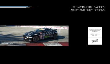 Arrive and Drive by TRG - Aston Martin