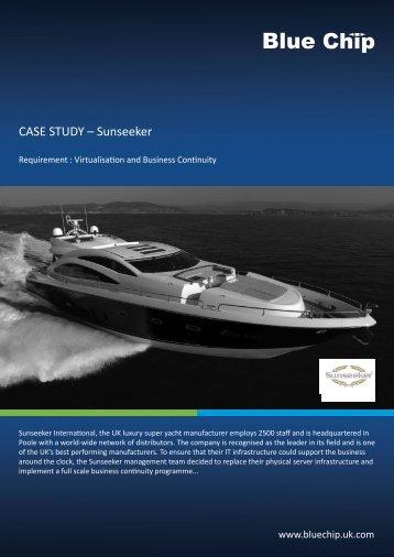 CASE STUDY – Sunseeker - Blue Chip - UK.COM