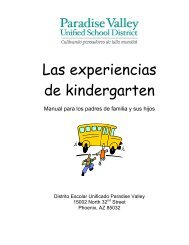 DAC Kindergarten Experience 2-11 SPA - The Paradise Valley ...
