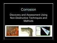 Developing Corrosion Monitoring Programs - NACE Calgary
