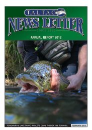 TALTAC Newsletter February 2013 - Christchurch Fishing and ...
