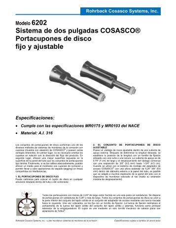 Sistema de dos pulgadas COSASCO® Portacupones de disco fijo y ...