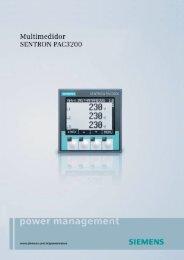 Catálogo Técnico PAC3200 - Industry