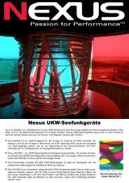 Katalog für die UKW-Seefunkgeräte. - Herman Gotthardt GmbH
