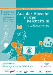 Aus der Abwehr in den Beichtstuhl - qualitative ... - Pallas GmbH