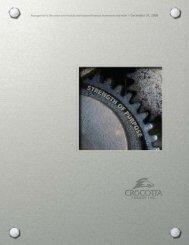 2008 Year-End Report - Crocotta Energy Inc.