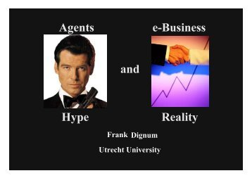 Agents and Electronic Commerce: Hype and Reality