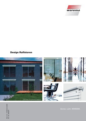 Design Raffstoren