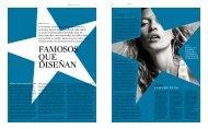 Famosos que diseñan (La Vanguardia – 2009)