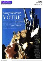 Madame Figaro (page 4) - 15 juin 08 - Câlinesse