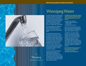 Deacon Reservoir Outlet - City of Winnipeg