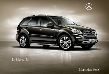 La Classe M - Mercedes-Benz France