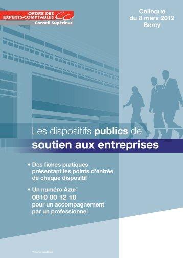 Vademecum-Soutien-aux-Entreprises-1 - Financement des TPE / PME