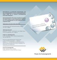 Informationen zu genetischen Erkrankungen und ... - Labor Leipzig