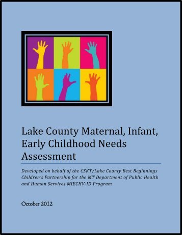 Lake County Maternal, Infant, Early Childhood Needs Assessment