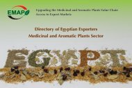 MAP Egyptian Exporters Directory - 2nd Edition - EMAP
