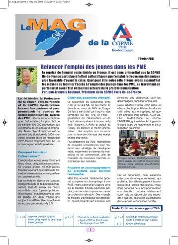 telechargez le mag - CGPME Paris Ile de France
