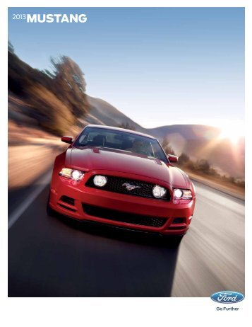 2013 Ford Mustang Brochure - Clickmotive