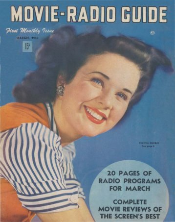 Movie - Radio Guide 4303.pdf - Old Time Radio Researchers Group