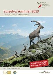 Surselva Sommer 2013 - Surselva.info