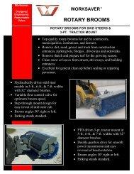 Worksaver Brooms - Edney Distributing Co. Inc.