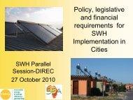 City of Cape Town Solar Water Heater Bylaw - Delhi International ...