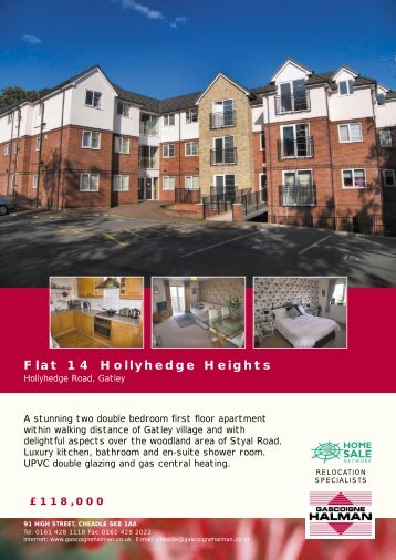 Flat 14 Hollyhedge Heights