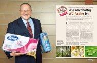 Wie nachhaltig WC-Papier ist