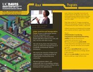 ULTRANS Brochure - UC Davis Institute of Transportation Studies